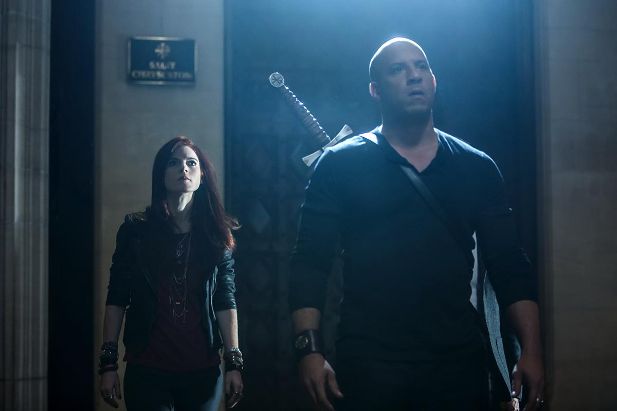 Rose Leslie y Vin Diesel en El último cazador de brujas