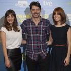 Andrea Duro, Eduardo Noriega y Alexandra Jiménez en la presentación de Los miércoles no existen (2)