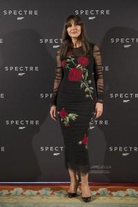 Monica Belluci en la presentación de Spectre