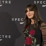 Monica Belluci en la presentación de Spectre (2)