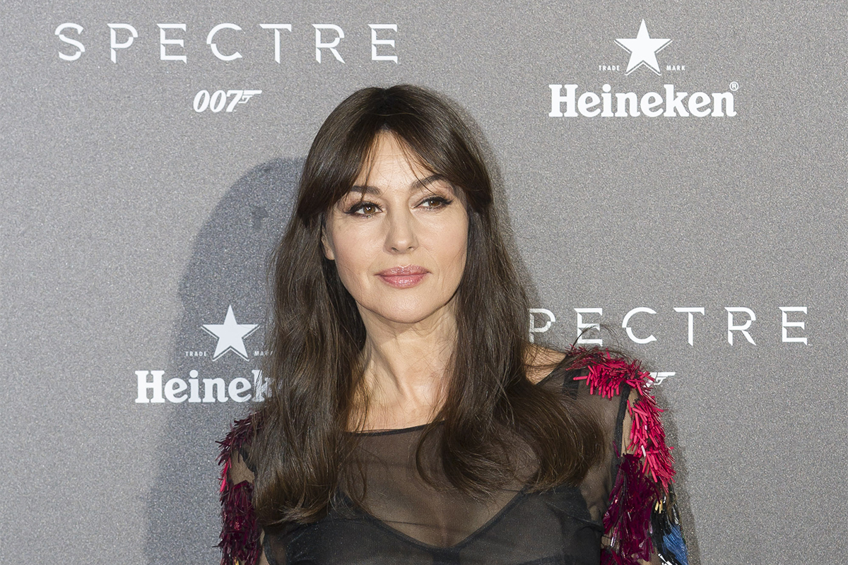 Monica Belluci attend the SPECTRE Premier in Madrid - Spain
