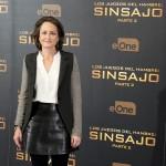 Nina Jacobson en la presentación de prensa de Los juegos del hambre: Sinsajo - Parte 2