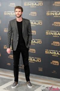 Liam Hemsworth en la presentación de prensa de Los juegos del hambre: Sinsajo - Parte 2