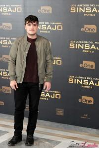 Josh Hutcherson en la presentación de prensa de Los juegos del hambre: Sinsajo - Parte 2