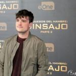 Josh Hutcherson en la presentación de prensa de Los juegos del hambre: Sinsajo - Parte 2 (2)