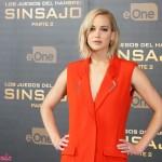 Jennifer Lawrence en la presentación de prensa de Los juegos del hambre: Sinsajo - Parte 2 (3)