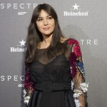 Monica Belluci en la premier de Spectre (2)