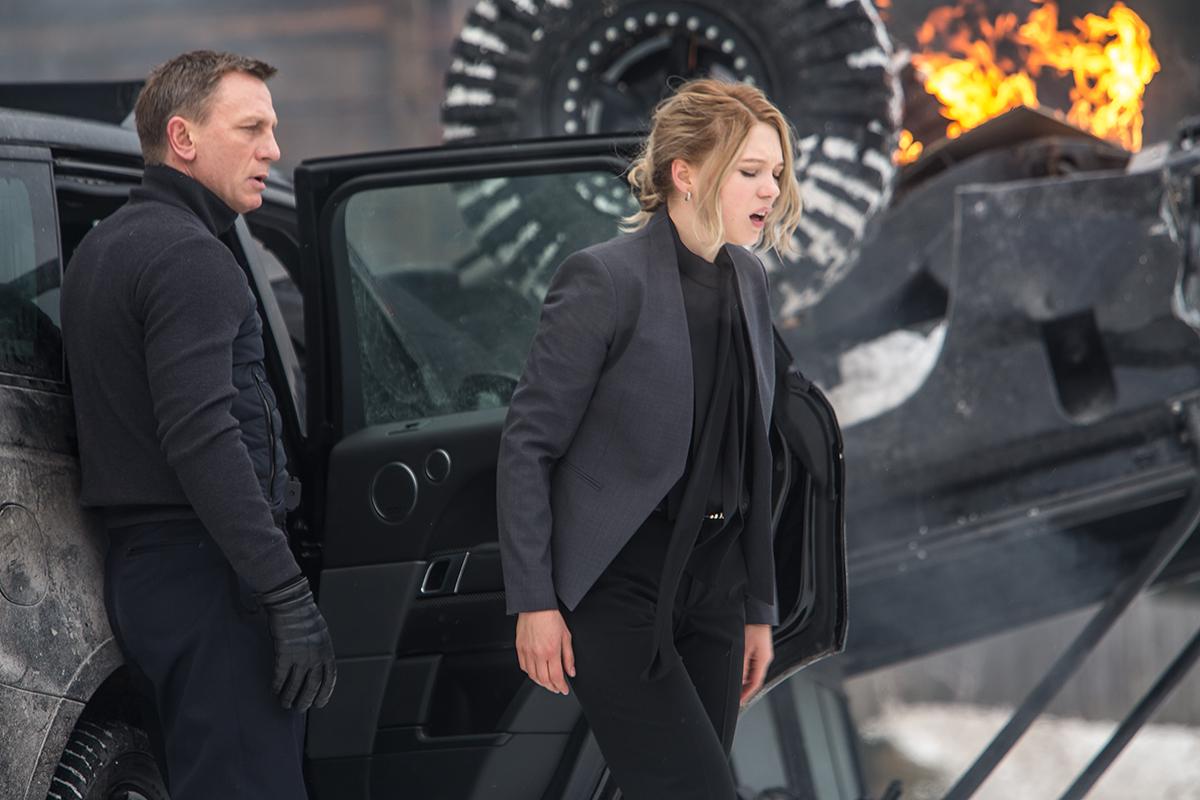 Daniel Craig y Léa Seydoux en Spectre