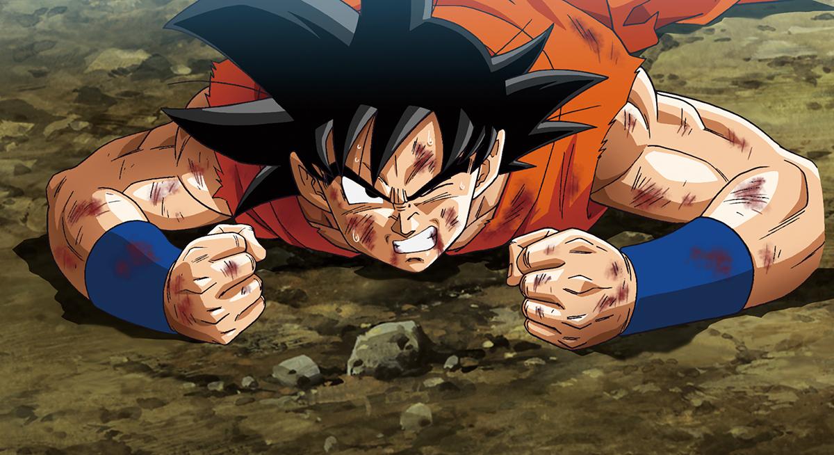 Son Goku en Dragon Ball Z: La resurrección de F