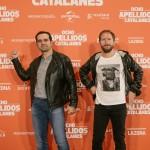 Alfonso Sánchez y Alberto López en la presentación de Ocho apellidos catalanes