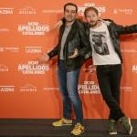 Alfonso Sánchez y Alberto López en la presentación de Ocho apellidos catalanes (2)