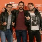 Alfonso Sánchez, Dani Rovira y Alberto López en la presentación de Ocho apellidos catalanes