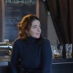 Nora Navas en el rodaje de La adopción