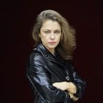 Dolores Fonzi en la presentación de Paulina