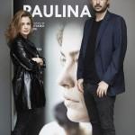 Dolores Fonzi y Santiago Mitre en la presentación de Paulina (2)