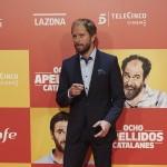 Alberto López en la premier de Ocho apellidos catalanes