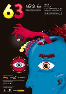 63 Festival Internacional de Cine de San Sebastián (2015) - Poster