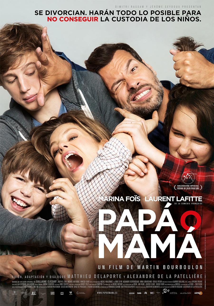Papá o mamá - Poster