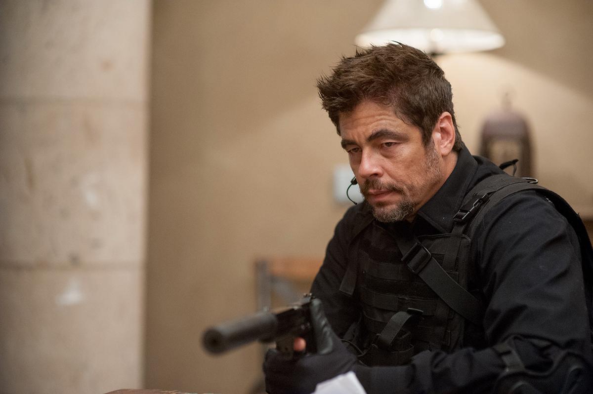 Benicio Del Toro en Sicario