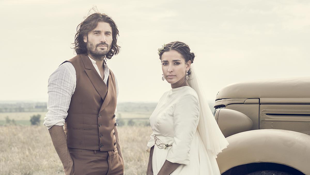 Álex García e Inma Cuesta en La novia
