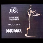 Nominadas a mejor película en los Oscars 2016