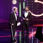 Antonio Resines y Dani Rovira en Premios Goya 2016