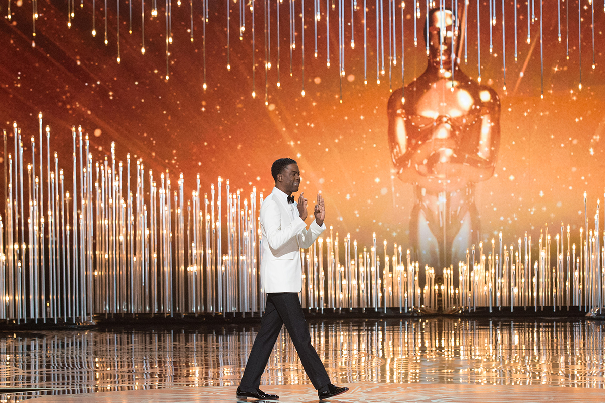 Chris Rock en los Oscars 2016 (Oscars®)