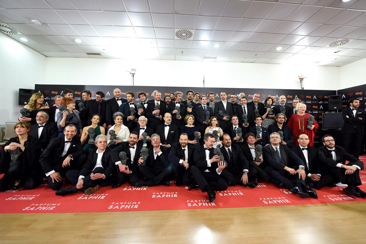 Ganadores Premios Goya 2016