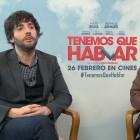 Diego San José y David Serrano en la presentación de Tenemos que hablar
