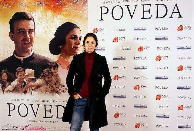 Elena Furiase en la presentación de Poveda