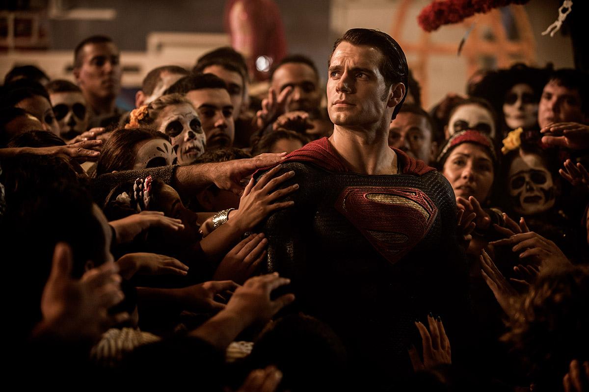 Henry Cavill en Batman v. Superman: El amanecer de la justicia