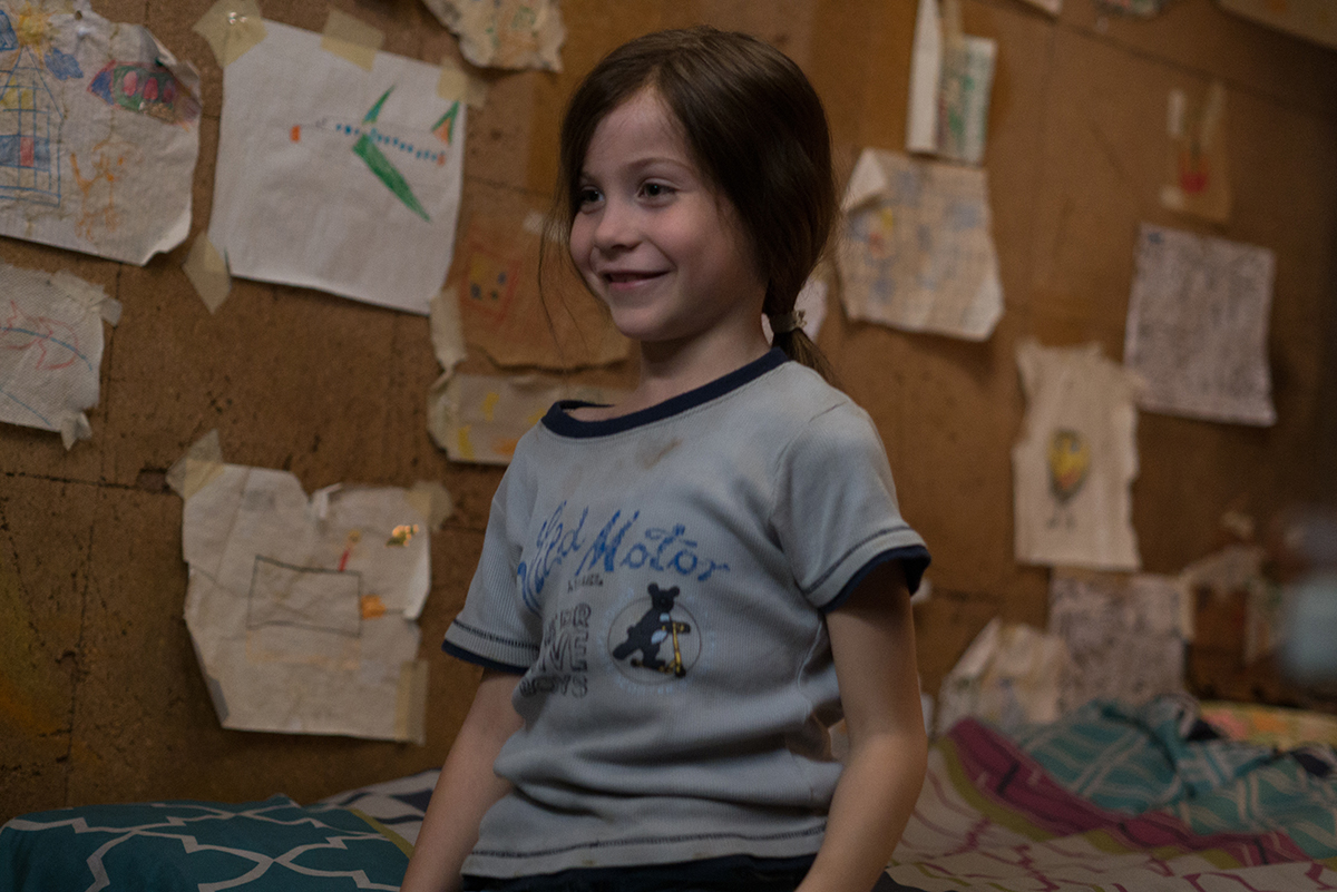 Jacob Tremblay en La habitación