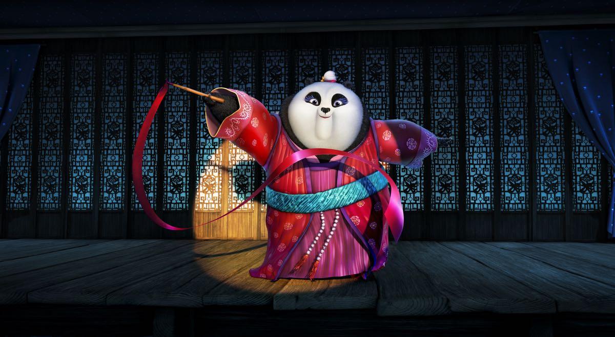 Mei Mei en Kung Fu Panda 3
