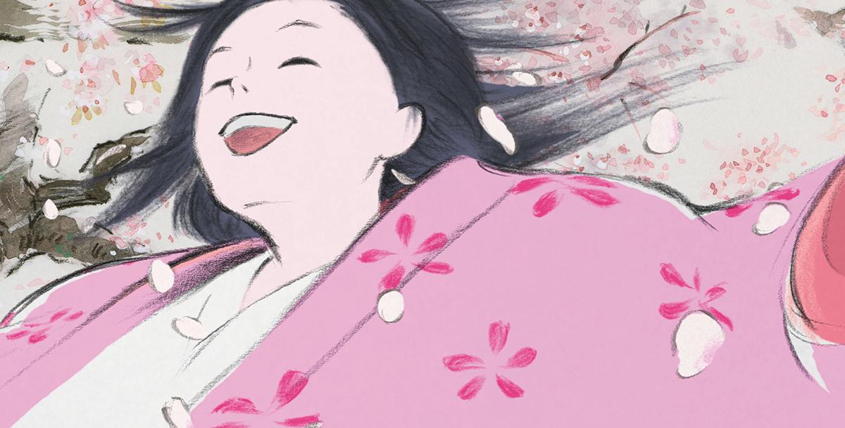 Princesa Kaguya en El cuento de la princesa Kaguya