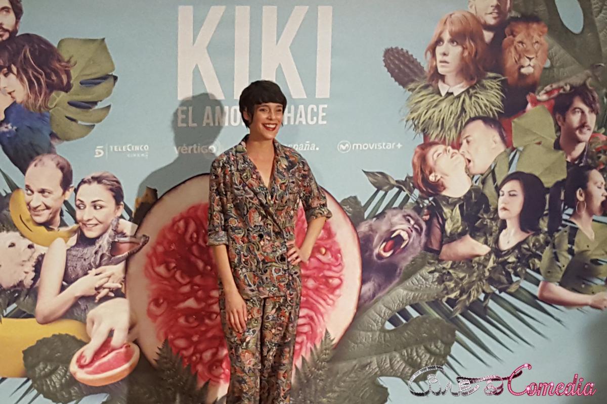 Belén Cuesta en la presentación de KIKI, el amor se hace