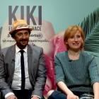 Candela Peña, Luis Callejo y Mari Paz Sayago en la presentación de KIKI, El amor se hace