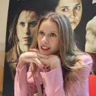 Manuela Vellés en la presentación de Lobos sucios