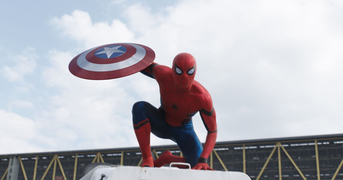 Tom Holland en Capitán América: Civil War