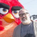 Álex de la Iglesia en la presentación de Angry Birds, la película
