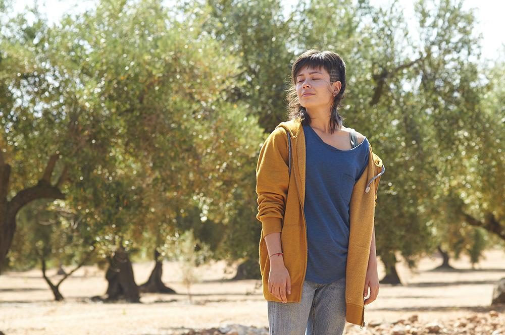 Anna Castillo en El olivo