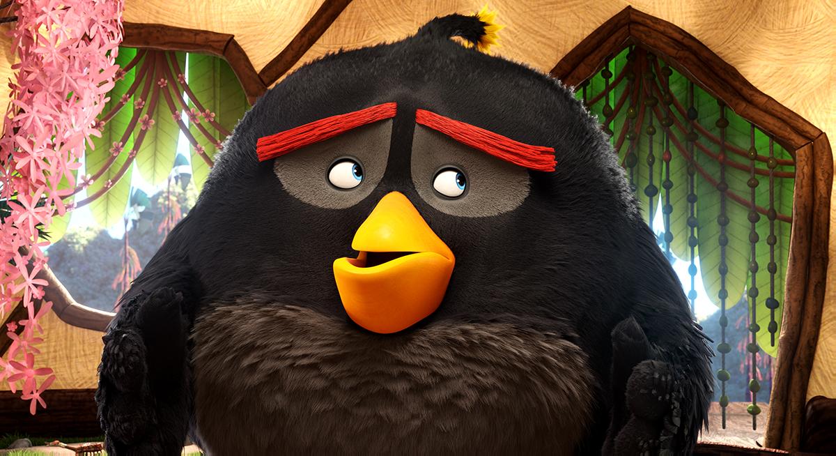 Bomb en Angry Birds, la película