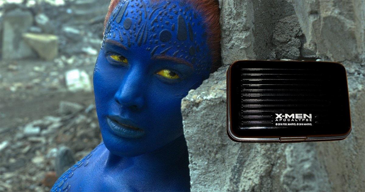 Jennifer Lawrence en X-Men: Apocalipsis + Tarjetero