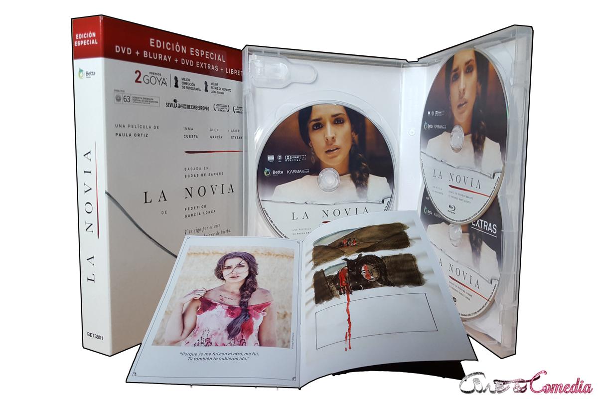 Contenido de La novia - Edición especial (DVD/BluRay)