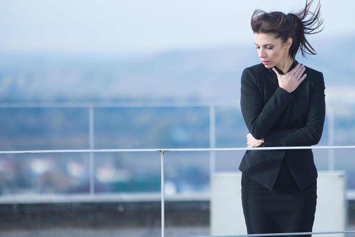 Maribel Verdú en La punta del iceberg (©JulioVergne)