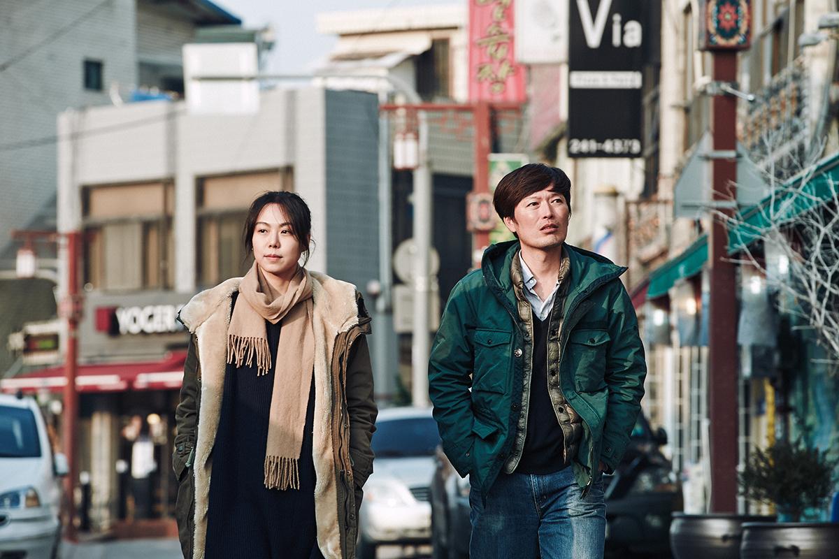 Min-hee Kim y Jae-yeong Jeong en Ahora sí, antes no