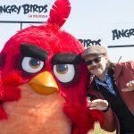 Santiago Segura en la presentación de Angry Birds, la película