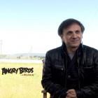 Santiago Segura y José Mota en la presentación de Angry Birds, la película