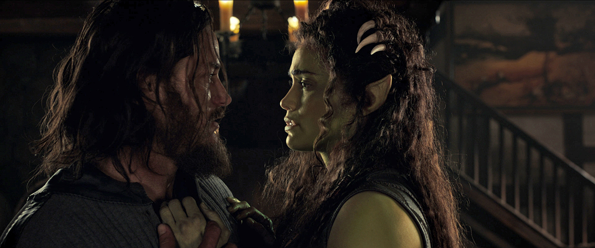 Travis Fimmel y Paula Patton en Warcraft: El origen