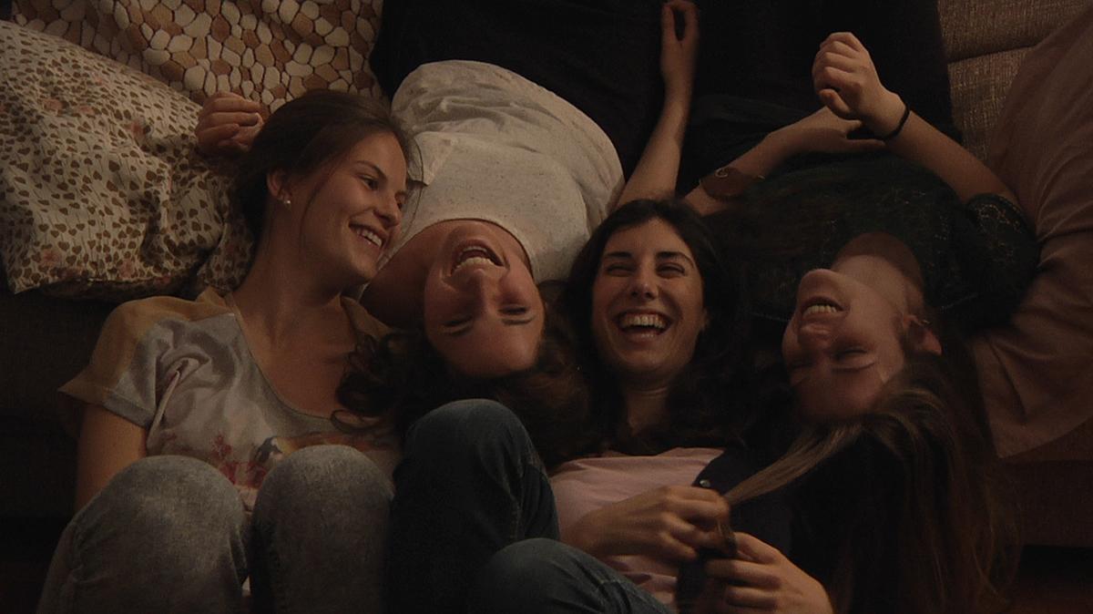 Victòria Serra, Carla Linares, Elena Martín y Marta Cañas en Las amigas de Àgata