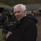 Terence Davies en el rodaje de Sunset Song